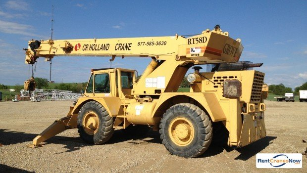 20-TON GROVE RT580 Crane for Rent in Forest City Iowa on CraneNetwork.com