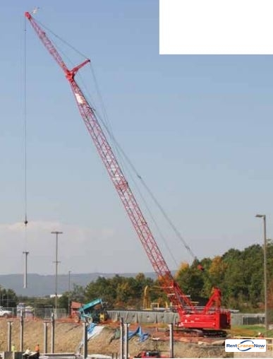 Manitowoc 11000-1 Crane for Rent in Mandan North Dakota on CraneNetwork.com