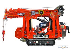 Mini Crane SPD 360 C Crane for Rent in Arlington Heights Illinois on CraneNetwork.com