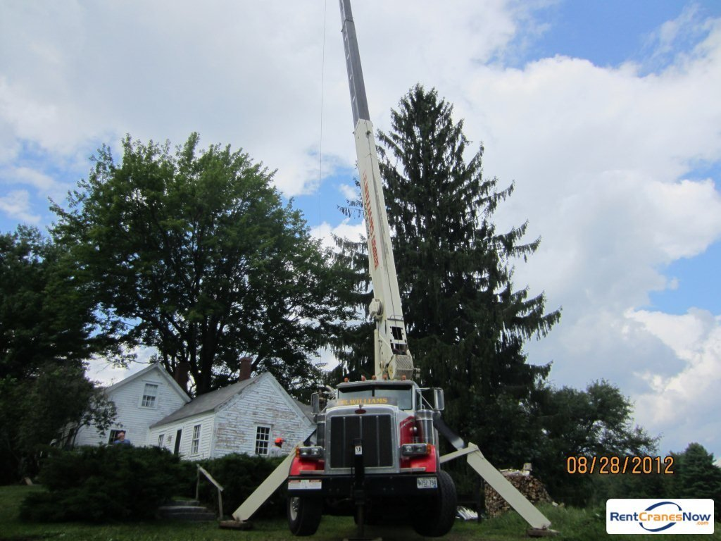 Crane for Rent in Woolwich Maine on CraneNetworkcom