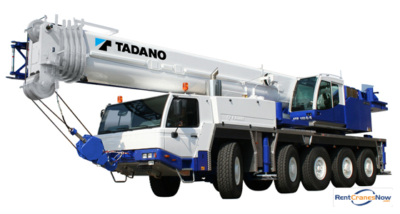 130-TON TADANO ATF 110G-5 Crane for Rent in Lafayette Louisiana on CraneNetwork.com