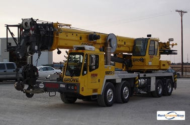 90-Ton Grove TMS900E Crane for Rent in Hays Kansas on CraneNetworkcom