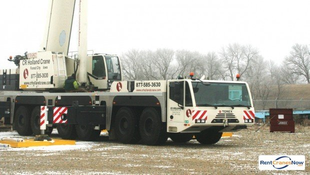 300-TON DEMAG AC250 Crane for Rent in Forest City Iowa on CraneNetworkcom