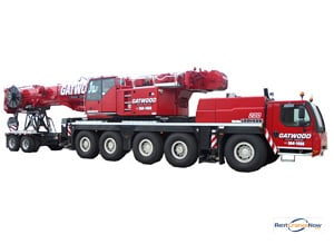 Liebherr LTM 1160-5.1 Crane for Rent in Arlington Heights Illinois on CraneNetwork.com