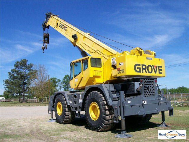 75-TON GROVE RT875C Crane for Rent in Monroe Washington on CraneNetwork.com