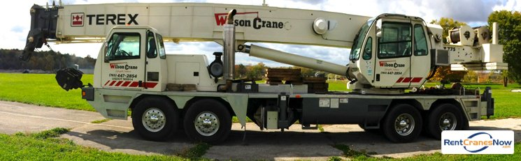 Crane for Rent in Lafayette Indiana on CraneNetwork.com