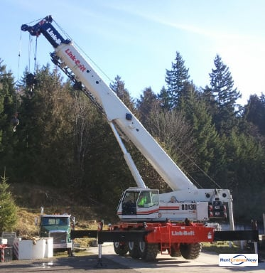 130-Ton Link-Belt RTC-80130 SII Crane for Rent in Poulsbo Washington on CraneNetworkcom