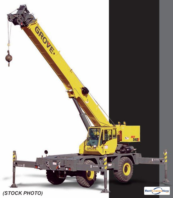 RT-540E 40 Ton RT Crane for Rent in Clearwater Florida on CraneNetwork.com