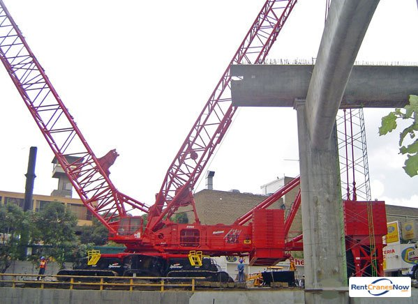 Manitowoc 21000 Crane for Rent in Houston Texas on CraneNetwork.com