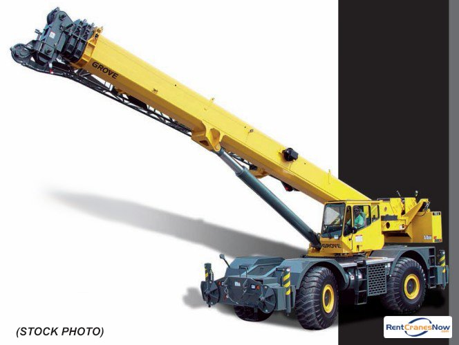 RT-880E 90 Ton RT Crane for Rent in Clearwater Florida on CraneNetworkcom