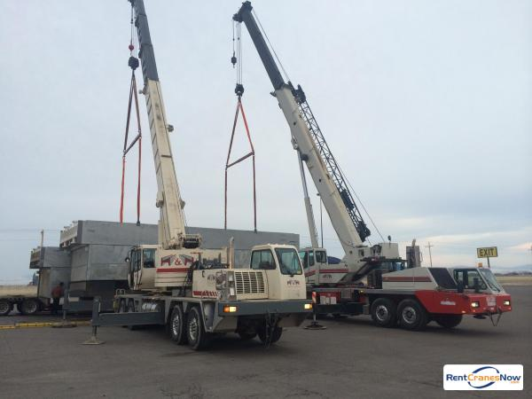 90-TON LINK-BELT HTC-8690 Crane for Rent in Great Falls Montana on CraneNetwork.com