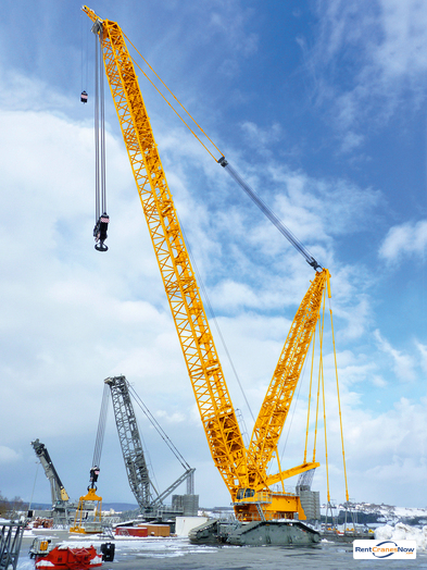 Liebherr LR 11000 Crane for Rent in Houston Texas on CraneNetworkcom