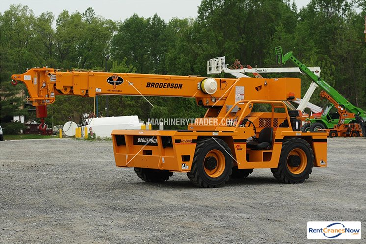 Sold NEW 15-Ton Broderson IC-200-3H Crane for in Honey Brook