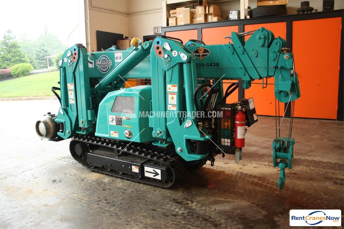 2014 Maeda MC285C Crane for Rent in Honey Brook Pennsylvania on CraneNetwork.com