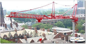 66-TON POTAIN HDT 80 Crane for Rent in Columbus Ohio on CraneNetworkcom