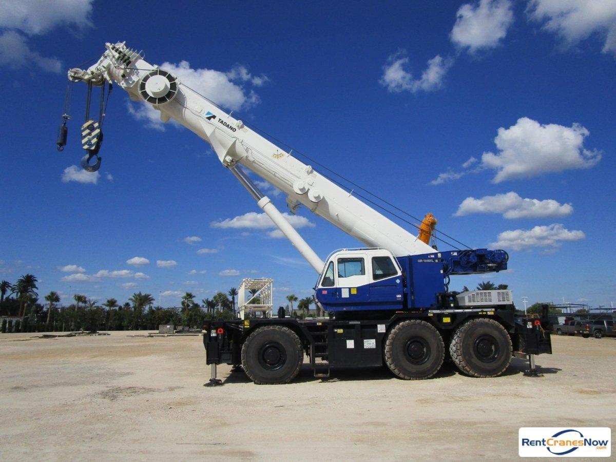 RentCranesNow.com :: Find Thousands of Crane Rental Companies Near YouCrane  details for Tadano GR1600XL in United States