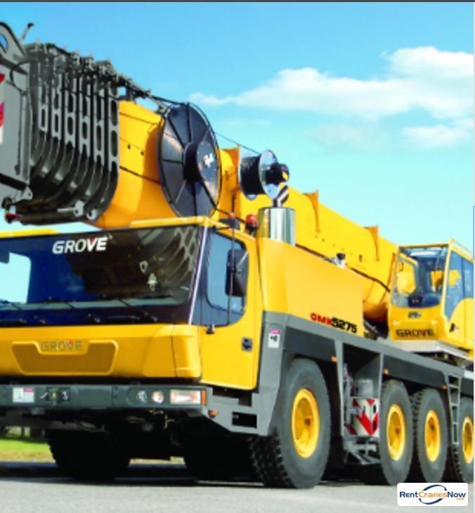 GROVE GMK5275 Crane for Rent in Superior Wisconsin on CraneNetwork.com