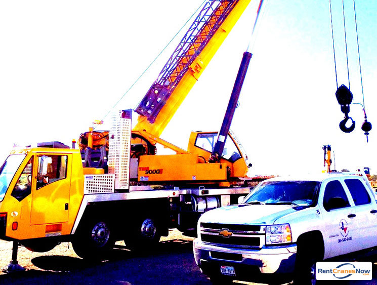 Crane for Rent in Mathis Texas on CraneNetwork.com
