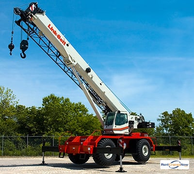 90-Ton Link-Belt RTC-8090 SII Crane for Rent in Riviera Beach Florida on CraneNetwork.com