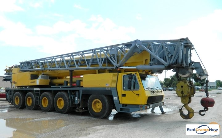 Grove GMK5210 Crane for Rent in Laingsburg Michigan on CraneNetwork.com