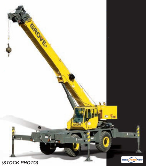 RT-535E 35 Ton RT Crane for Rent in Clearwater Florida on CraneNetwork.com