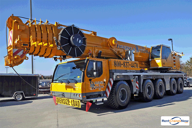275-TON LIEBHERR LTM 1220-52 Crane for Rent in Clarksburg Maryland on CraneNetworkcom