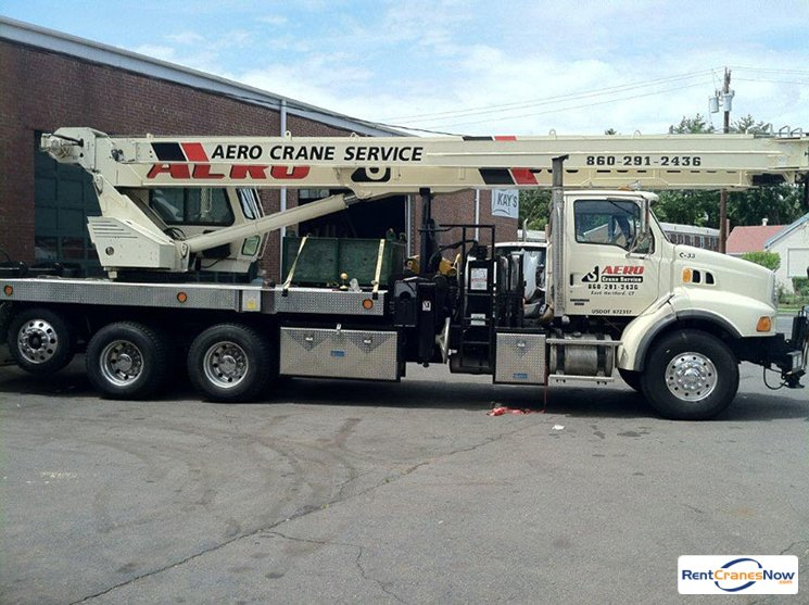 33-Ton National 1400 Crane for Rent in East Hartford Connecticut on CraneNetworkcom