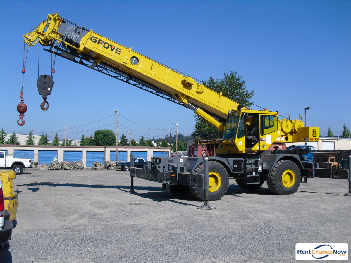 40-TON GROVE RT640C Crane for Rent in Monroe Washington on CraneNetwork.com
