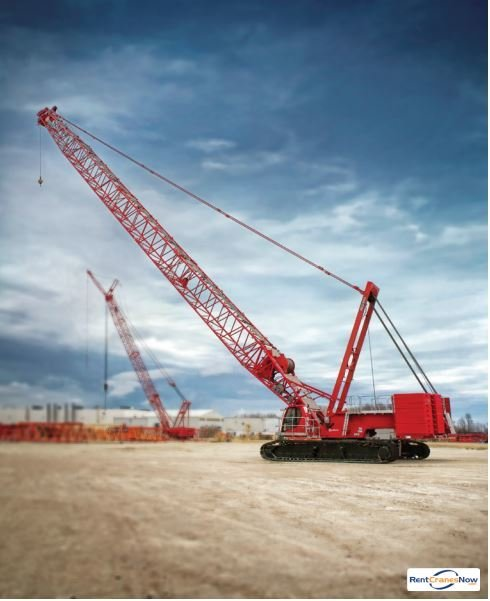 MANITOWOC MLC300 Crane for Rent in Superior Wisconsin on CraneNetworkcom