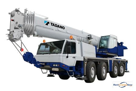 90-TON TADANO ATF 90G-4 Crane for Rent in Lafayette Louisiana on CraneNetwork.com