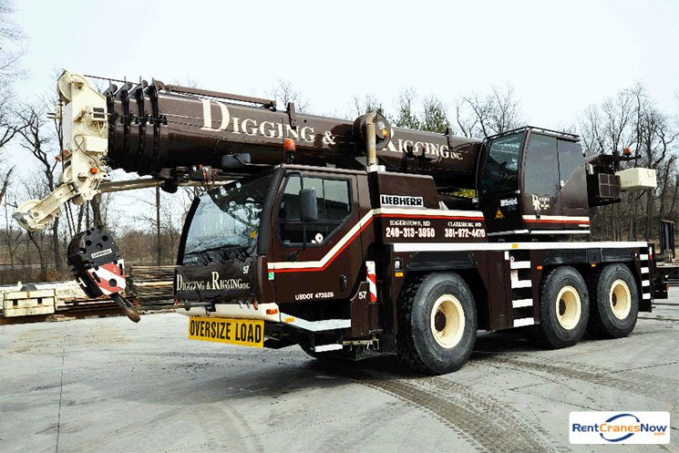 70-TON LIEBHERR LTM 1055-3.1 Crane for Rent in Clarksburg Maryland on CraneNetwork.com