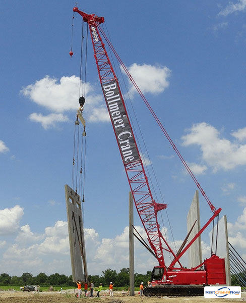 Manitowoc 999 Crane for Rent in Madison Illinois on CraneNetwork.com