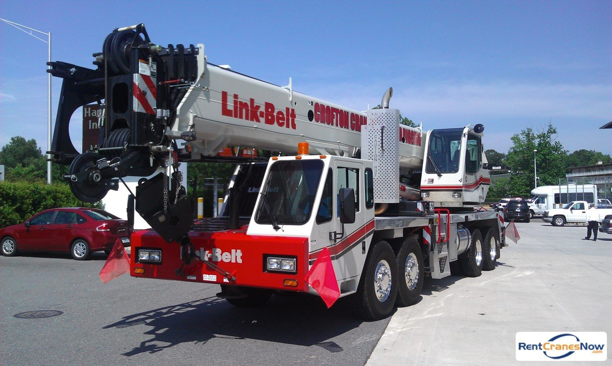 Linkbelt HTC8690 Crane for Rent in Portsmouth Virginia on CraneNetwork.com