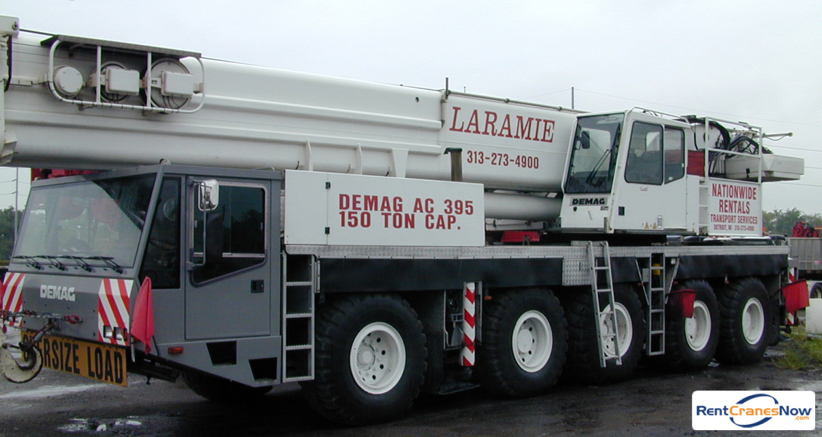 Demag AC-395 Crane for Rent in Wixom Michigan on CraneNetwork.com